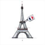 Illustration de la tour Eiffel